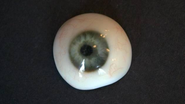 Oční protéza z 3D tiskárny