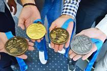 Medailisté z Evropských her přijeli k hejtmanovi