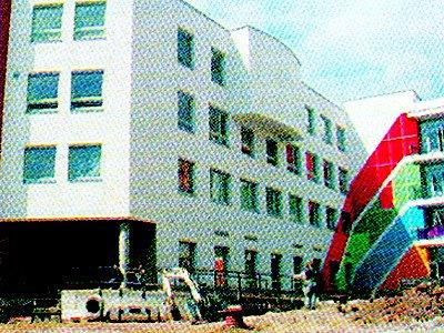 Nová budova Střední školy F.D. Roosevelta