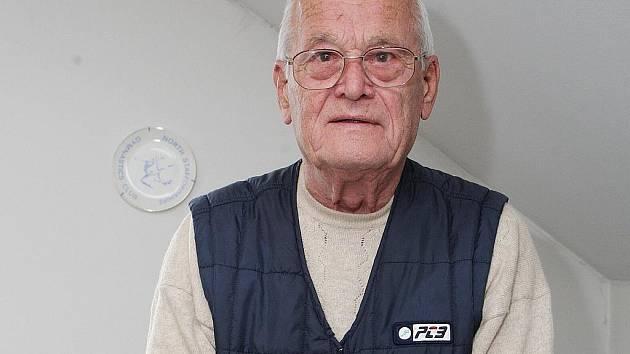 Bývalý slavný gymnasta Zdeněk Růžička.