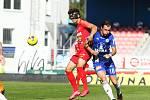 4. kolo FORTUNA:LIGY: FC Zbrojovka Brno (červená - Hlavica) - SK Sigma Olomouc 2:4.