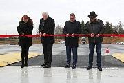Slavnostní otevření Polygonu na brněnském Automotodromu.
