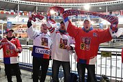 Fanoušci na Olympijském festivalu v areálu brněnského výstaviště.