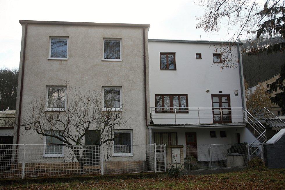 Domy z kolonie Nový dům v Brně.