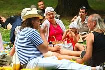 Piknik v Lužánkách.