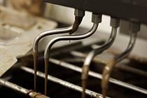 Výroba čokolády ve firmě Fikar.