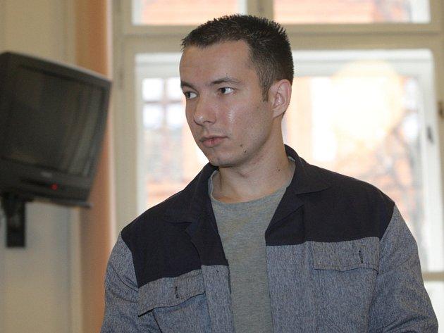 Nikolas Kubíček před soudem.