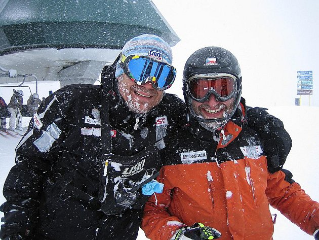 Petr Lajkeb (vlevo).