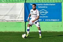 Záložník Jaroslav Málek vstřelil rozhodující gól.