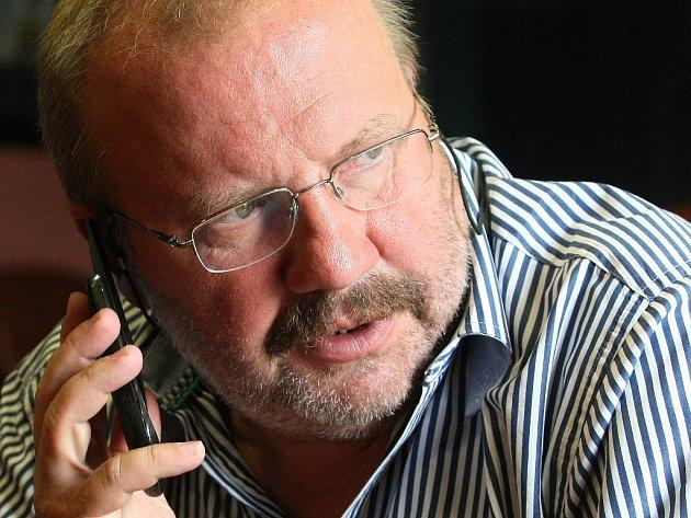 Ředitel Městského divadla Brno Stanislav Moša.