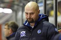 Majitel klubu a nyní i trenér hokejové Komety Brno Libor Zábranský.