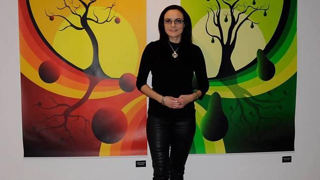 Umělkyně Markéta Evjáková