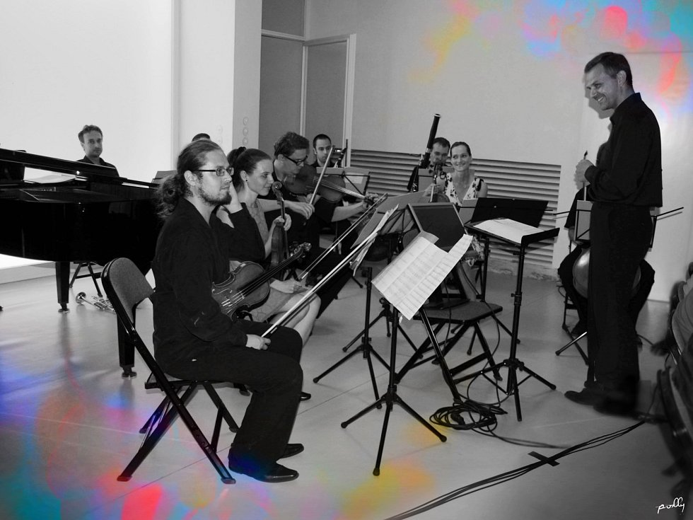 Brno Contemporary Orchestra v brněnské Vile Tugendhat.