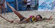 Slavkov rozdával beachvolejbalové tituly. Třetí za sebou získala Kvapilová