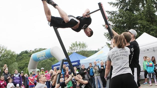 O doprovodný program se starala i skupina Workout Brno.