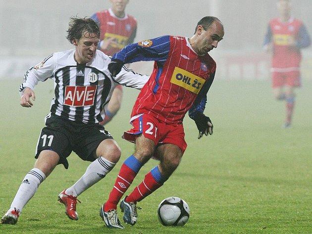Brněnští fotbalisté podlehli na domácí půdě v patnáctém kole Gambrinus ligy Českým Budějovicím 0:3.