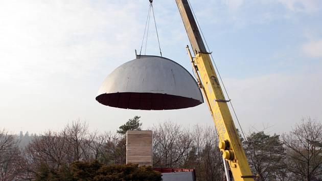 Brněnská hvězdárna má novou střechu