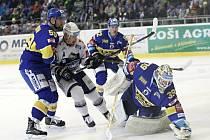 Hokejisté brněnské Komety ve 40. kole extraligy doma podlehli Zlínu 2:4.