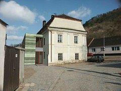Vizualizace přístavby Müllerova domu v Tišnově.