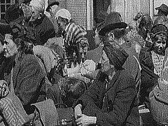 Odsun obyvatel Československa z obsazených Sudet. Ilustrační foto