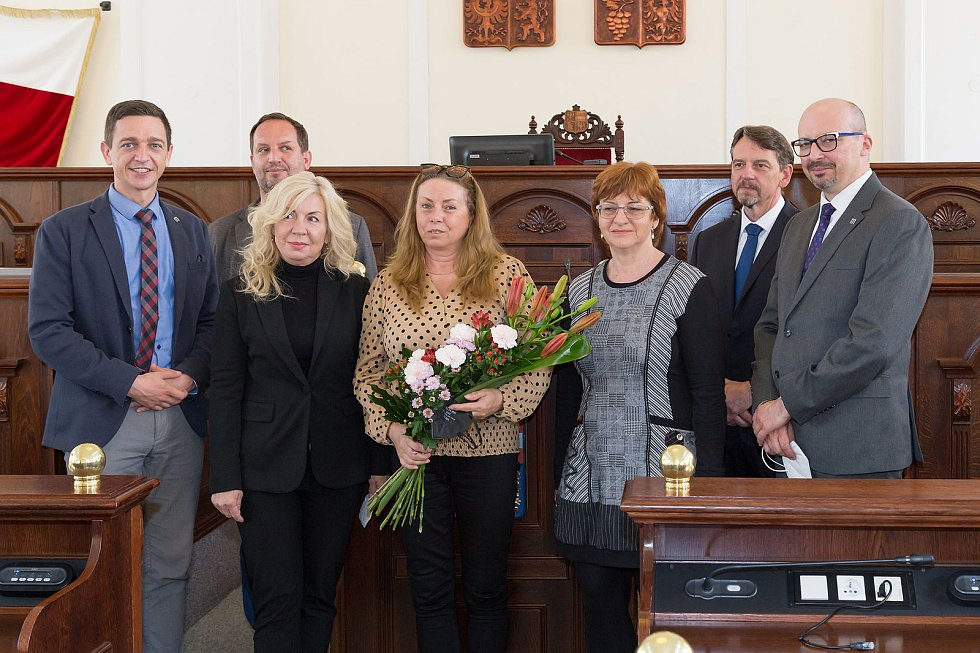 Oceněná Místní knihovna Drnovice. Foto: Moravská zemská knihovna