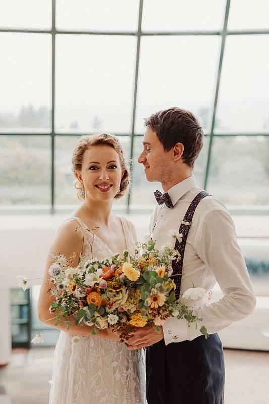 Svatební foto Jakubikovi. Foto od fotografa Petra Havláta.