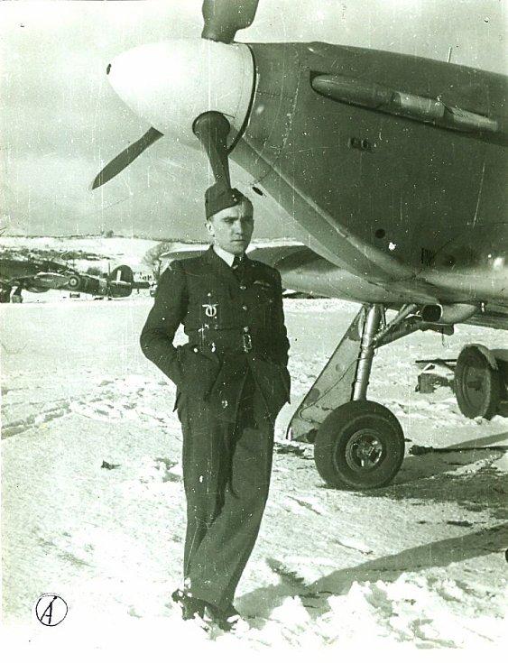 Fotografie z ledna 1941 - plukovník Tomáš Kruml.