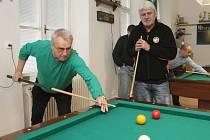 Dvacátý ročník kulečníkového turnaje osobností v Ponětovicích ovládl Uličný.