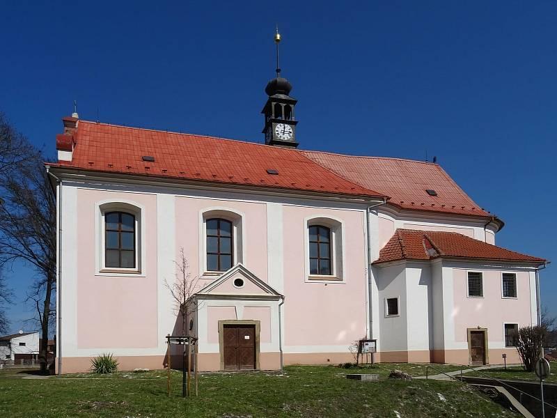 Kostel svaté Maří Magdaleny v Kuřimi.