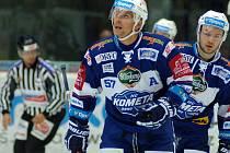 Hokejový útočník Jan Hruška.