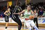 Brno 4.12.2019 - basketbalistky KP Brno v bílém proti týmu Elitzur Ramla z Izraele