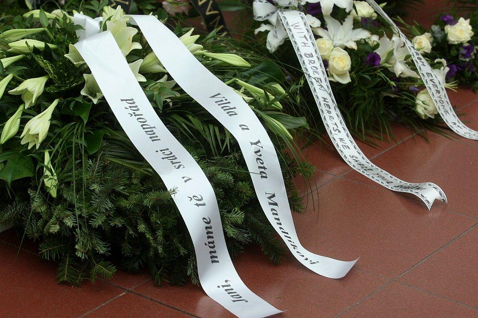 Pohřeb tenistky Jany Novotné na Ústředním hřbitově v Brně.