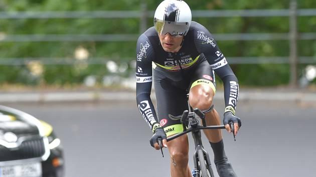 Český cyklista Jan Bárta.