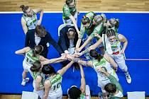 Basketbalistky KP Brno obsadily v eurocupové základní skupině D třetí místo.