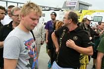 Automobilový závodník brněnského KT Motorsport Marek Fried nastoupil do klání na Slovakiaringu s Lotusem Exige. Po velkém požáru jej ale po závodě málem nepoznal.
