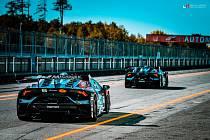Brněnská stáj veze na Hungaroring svou chloubu: vozy Lamborghini Huracan Super Trofeo EVO.