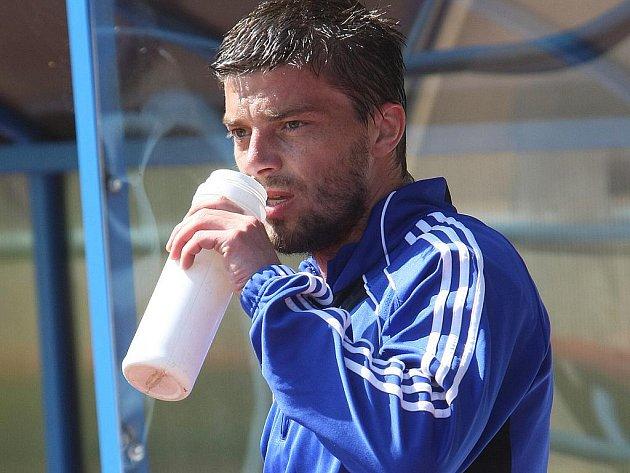 Fotbalista Milan Pacanda.