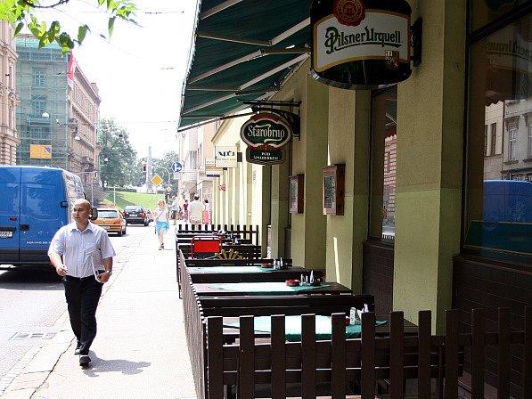 Restaurace Pod Špilberkem na Husové ulici