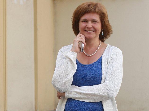 Místostarostka městské části Brno-střed Jasna Flamiková.
