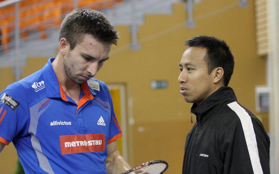 Petr Koukal a Dicky Palyama.
