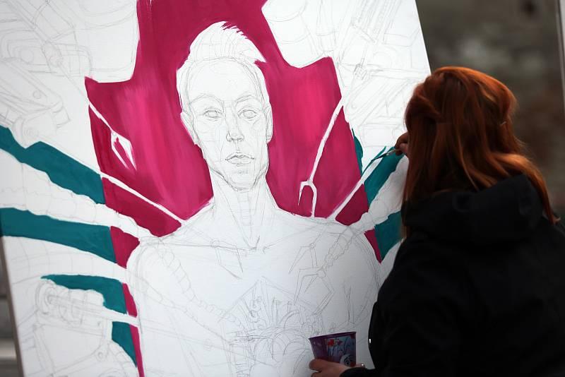Komiksový festival KOMA o víkendu zaplnil brněnskou Káznici.