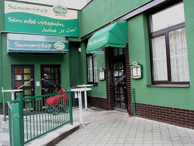 Restaurace U Lasa v ulici Merhautova
