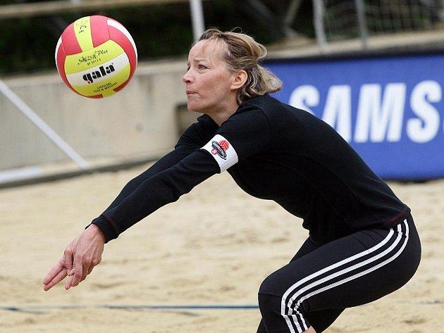 Volejbalistka Tereza Tobiášová. Ilustrační fotografie.
