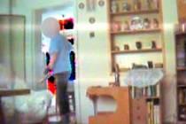 Záběr ze skryté kamery.