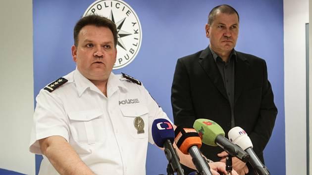 Vyjádření šéfa jihomoravských policistů Leoše Tržila k vraždě studentky a podezřelému.