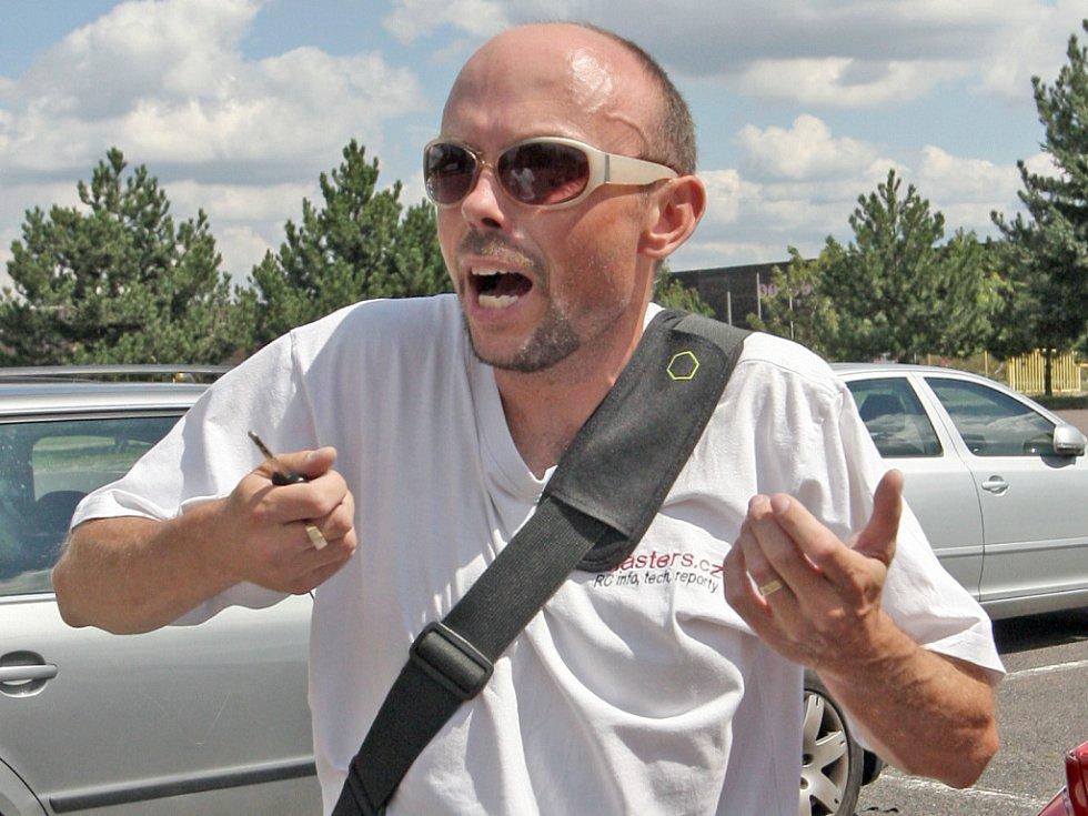 Koníčkem Igora Vlahoviče jsou již téměř deset let autíčka na dálkové ovládání.