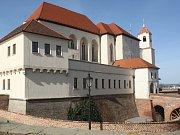 Pozdravit Janu Durčákovou a jejího syna Vladimíra, první dítě roku v Brně, přišel do porodnice i primátor města Petr Vokřál.