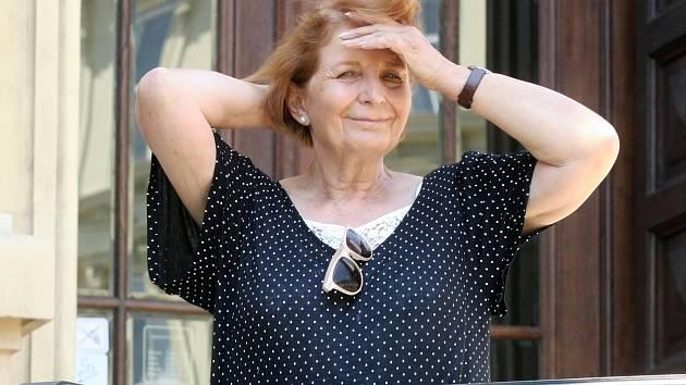 Herečka Marie Durnová.