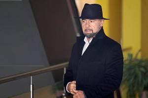 Brno 19.2.2020 - podnikatel Libor Procházka u Městského soudu v Brně