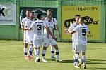 4.7.2020 - domácí SK Líšeň v bílém proti FK Dukla Praha